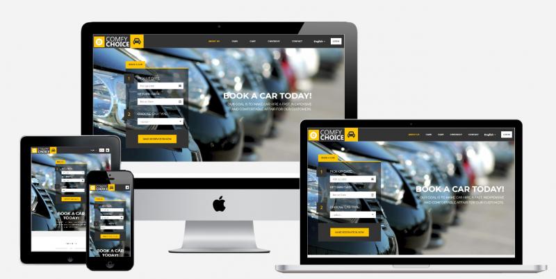wordpress website, web design