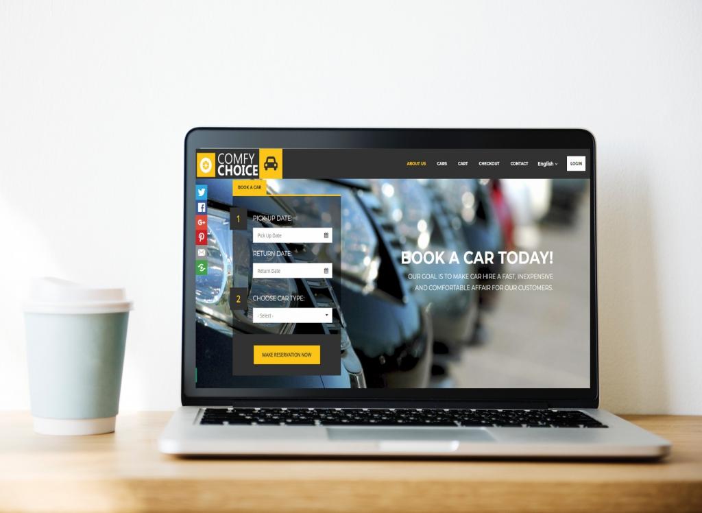 affordable web design, wordpress website
