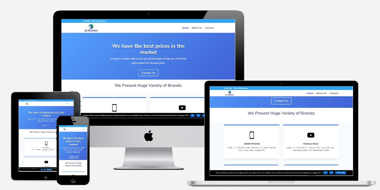 web design, landing page, wordpress website